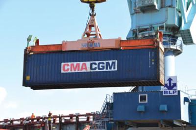 CMA CGM assure une escale hebdomadaire à La Rochelle