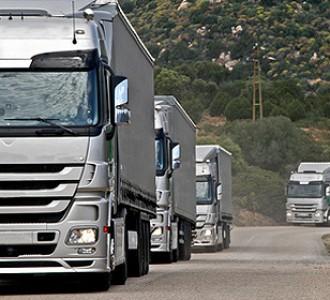 Transport routier de marchandises : l'outil de production est en repli depuis 2009