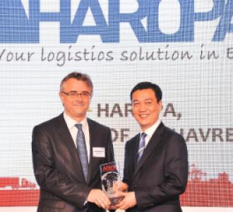 HAROPA réélu « Meilleur port européen » par les acteurs de la supply chain dans la zone Asie-Pacifique